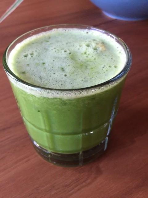 green grape & fennel juice